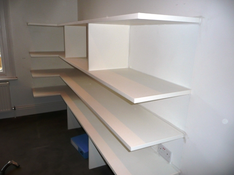 office storage shelves