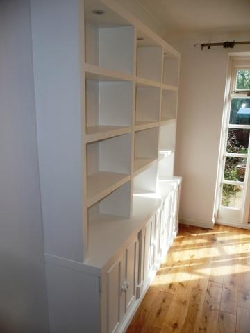 Cambridge design shelves