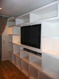 MDF products shelving storage